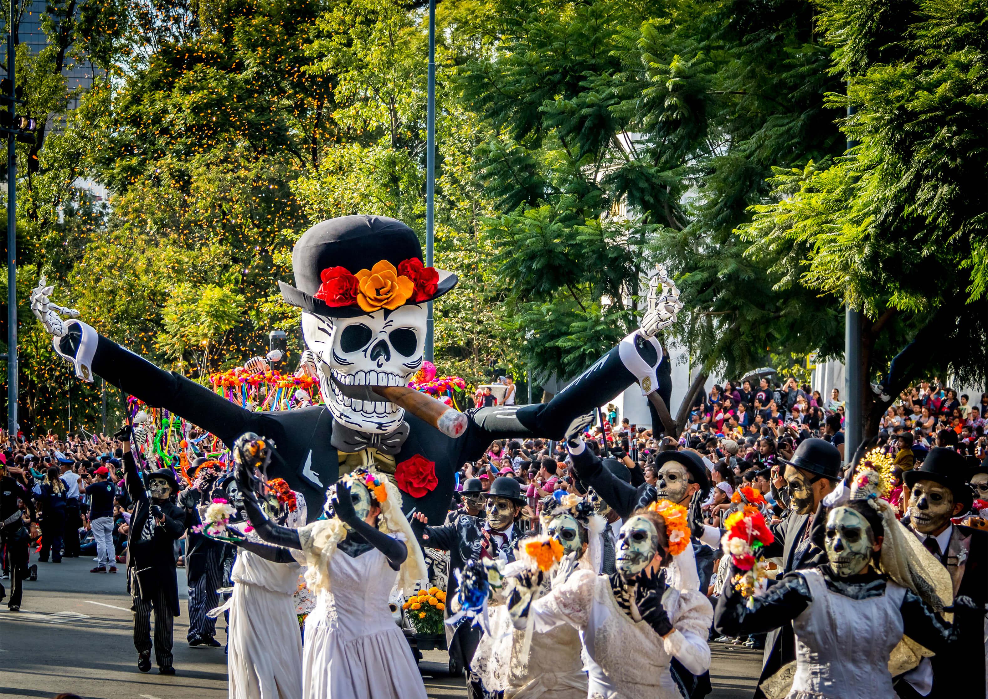 08edbedbc56e6 Como os Mexicanos Comemoram o Dia dos Mortos